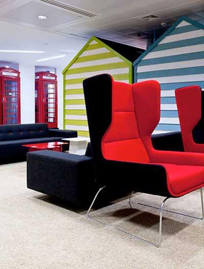 رونمایی طراحی داخلی جدید دفتر کار گوگل (عکس)