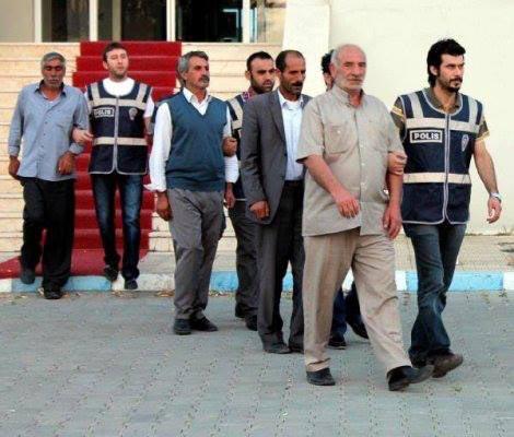 بازداشت شدگان ایرانی تبار در ترکیه (عکس)