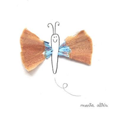 خلاقیت یک هنرمند خوش ذوق با تراشه مداد (عکس)