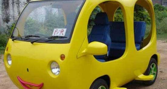 ساخت خودروهای عجیب و باور نکردنی (عکس)