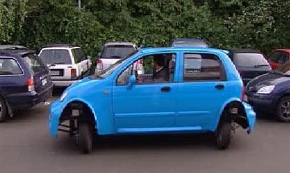 خودرو مخصوص پارک دوبل خانم ها