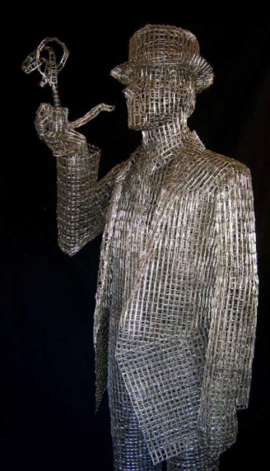 مجسمه جالب با 12 هزار گیره (عکس)
