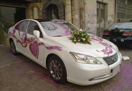 مدل های بسیار امروزی و شیک ماشین عروس (عکس)