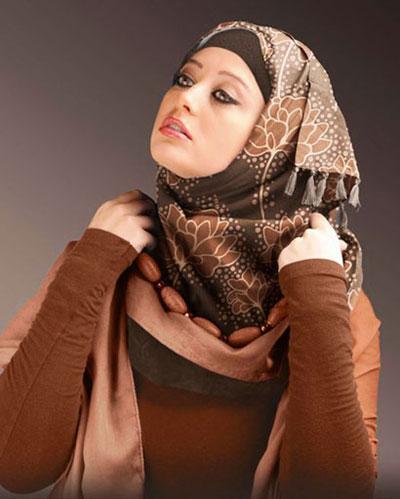 طرح ها و مدل های جدید بستن شال و روسری