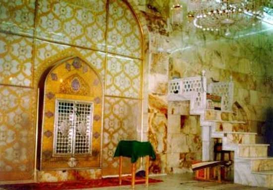 محل دقیق ضربت خودن حضرت علی (ع) (عکس)