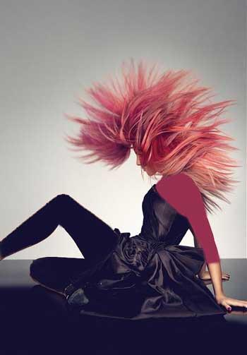 شیک ترین رنگ و مدل های فانتزی مو (عکس)