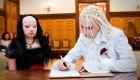 ازدواج به سبک وسطایی و ظاهر شیطان پرستی (عکس)