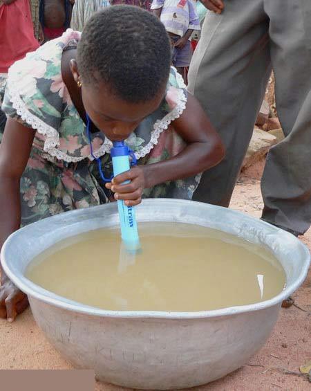 با این وسیله با خیال راحت آب گل آلود بنوشید (عکس)