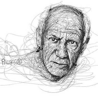 خط خطی های سرشار از ذوق و هنر (عکس)