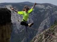 خانمی که شجاعتش قابل تحسین است (عکس)