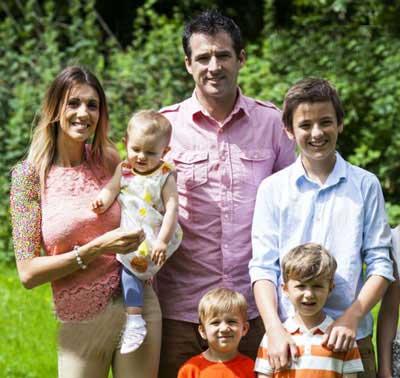 از ریز تا بزرگ این خانواده مدل هستند  (عکس)