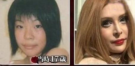 زن ژاپنی که خود را به عروسک فرانسوی تبدیل کرد (عکس)