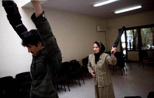 عکس های جالب پلیس های افغانی با جنسیت مونث
