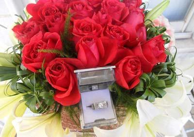 دسته گل های شیک و جدید مخصوص نامزدی (عکس)