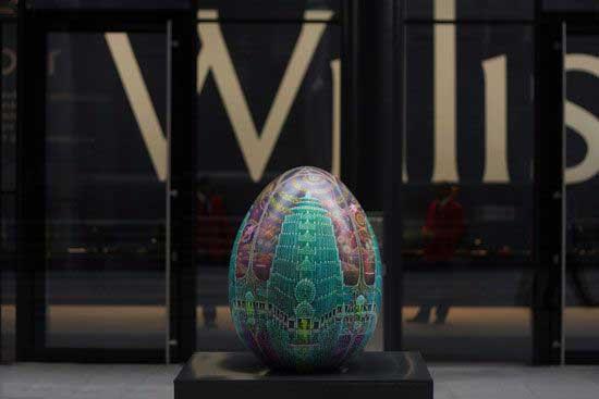 عید پاک تخم مرغی (عکس)