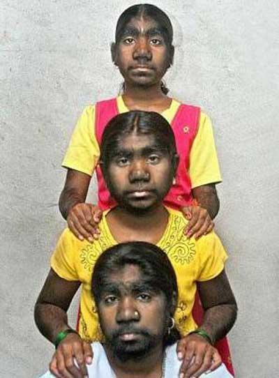 دخترانی که با دیدن آن وحشت می کنید (عکس)