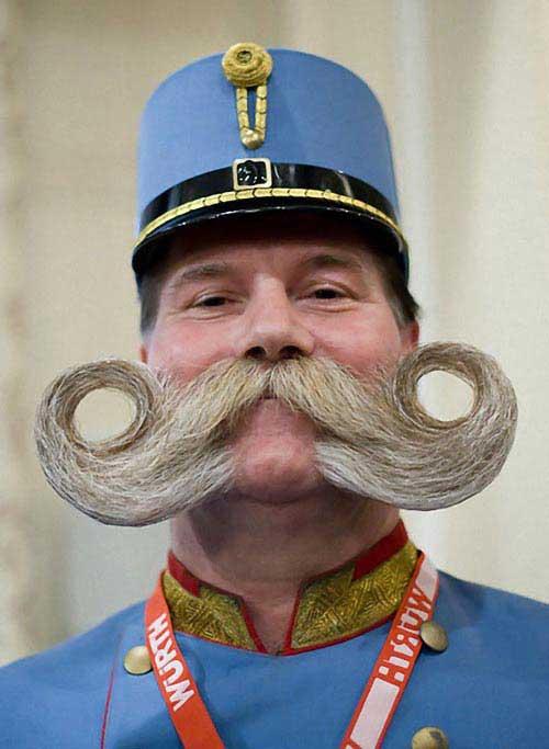 مردهایی با ریش و سیبیل عجیب (عکس)