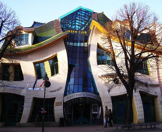 ساختمان هایی که مثل آن را ندیده اید (عکس)