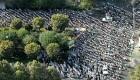 تصاویر هوایی از نماز یک پارچه عید سعید فطر 92