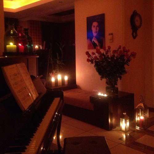 عکس لو رفته از اتاق شخصی الناز شاکر دوست