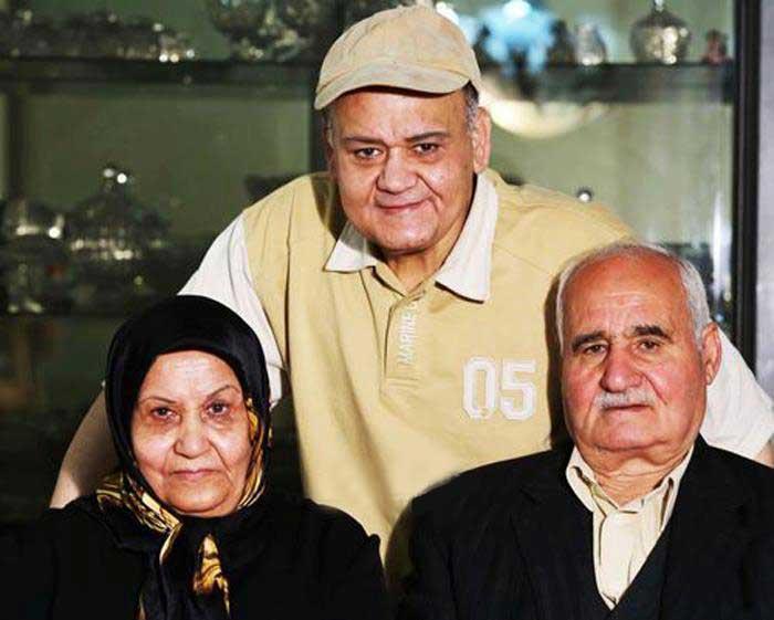 اکبر عبدی بی شباهت به پدرش هم نیست (عکس)