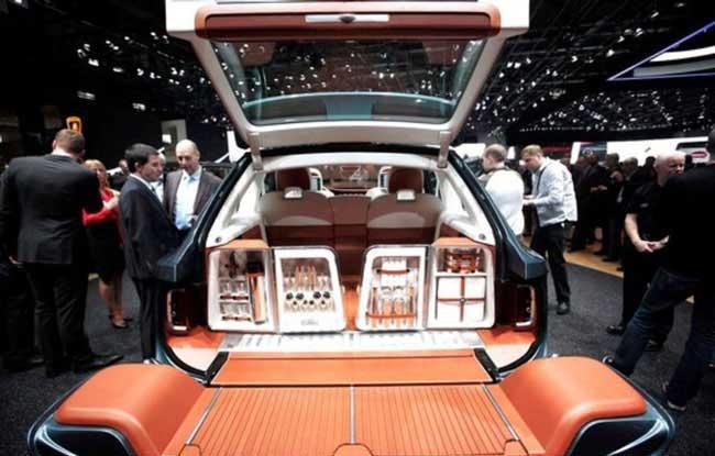 ماشین شاسی بلند چند میلیون دلاری (عکس)