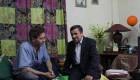 دیدار احمدی نژاد با ابولفضل پور عرب (عکس)