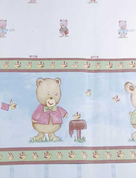چند مدل جالب از کاغذ دیواری اتاق کودکان (عکس)