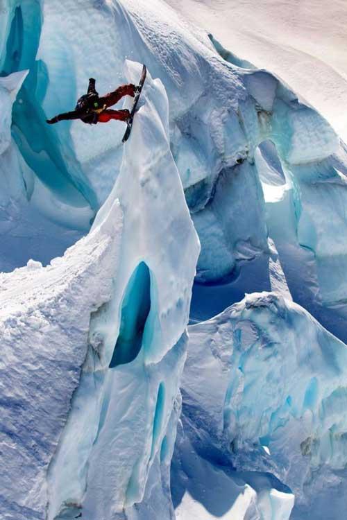 اگر ترس از ارتفاع دارید کلیک نکنید (عکس)