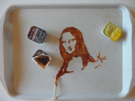 نقاشی های حیرت انگیز با مایعات (عکس)