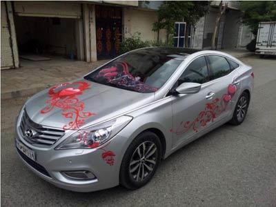 جدیدترین مدل ماشین عروس 2013 (عکس)