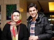 علی ضیا در کنار خانواده اش (عکس)