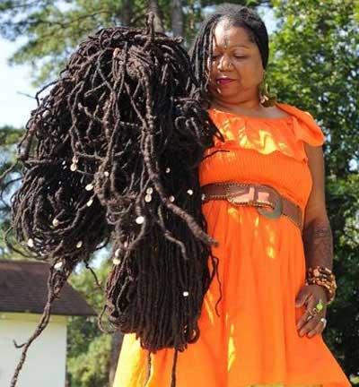 مو های افسانه ای این زن رکورد شکاند (عکس)