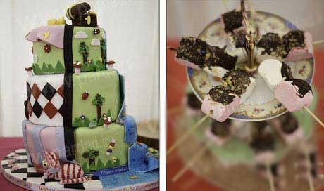 سالگرد تولد دوقلوهای فوق العاده ثروتمند بریتانیایی