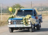 ماشین عروس به این متفاوتی دیده بودید؟ (عکس)
