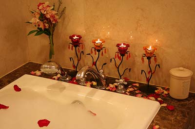 زیباترین مدل های تزیینات حمام و دستشویی برای عروس