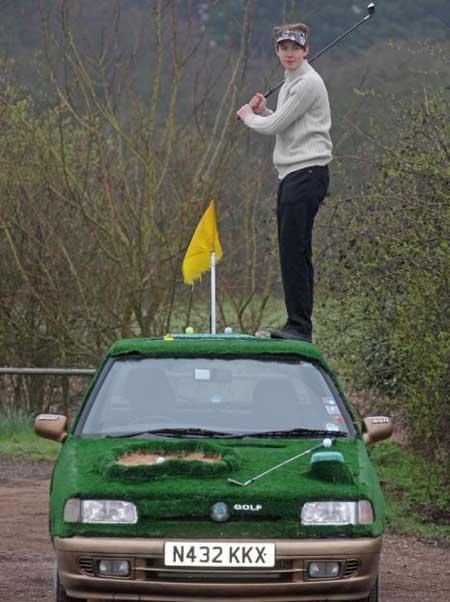 تا به حال  بازی گلف به این عجیبی دیده بودید؟