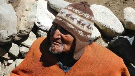 تصاویر ویژه از پیرترین مرد تاریخ