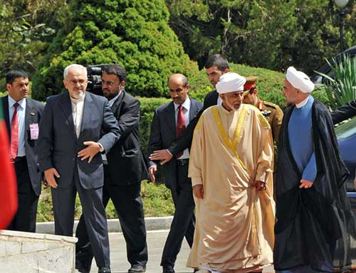 تصاویر ویژه از استقبال گرم  رئیس جمهور از پادشاه عمان