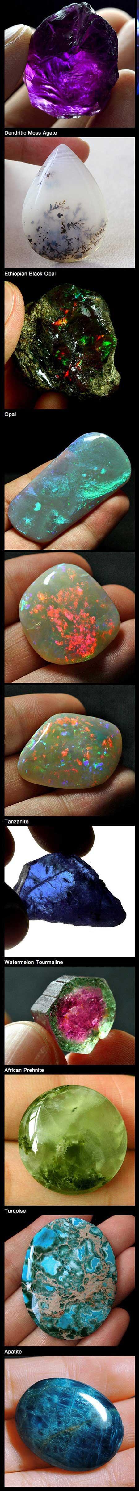 سنگ های عجیب الخلقه و بسیار زیبا