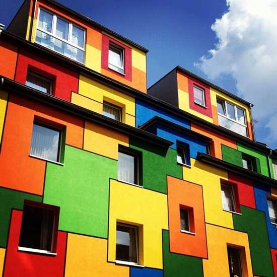 شادترین ساختمان های دنیا (عکس)