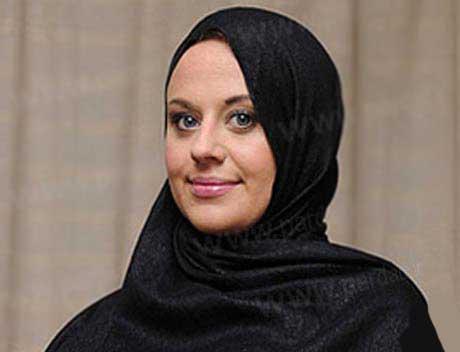 مدلینگ مشهور و معروف انگلیسی مسلمان شد (عکس)