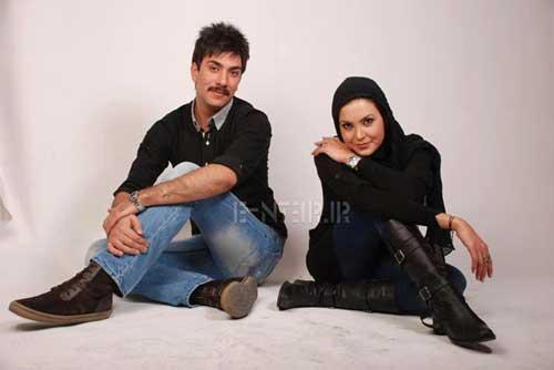 عکس دیده نشده از سامیه لک و همسرش