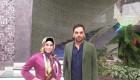عکس جنجالی مجری معروف ایران در کنار بازیگر زن  مشهور
