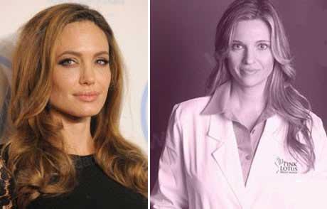 راز جراحی سینه آنجلینا جولی از زبان دکترش
