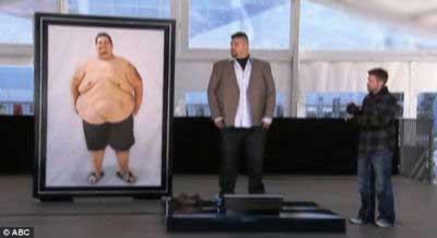 کاهش وزن شگفت انگیز (عکس)