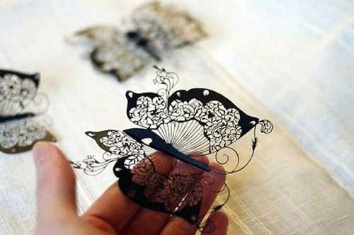 نتیجه مبارزه کاغذ با قیچی (عکس)
