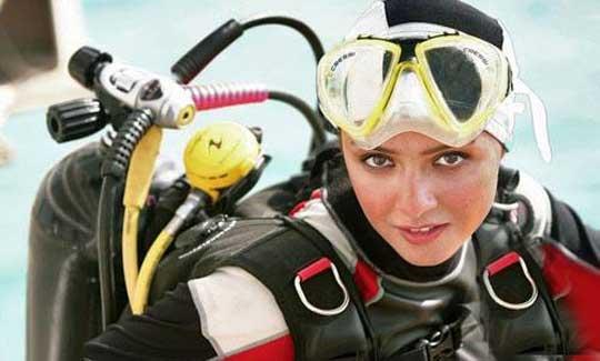 عکس لو رفته و خصوصی از ترانه علیدوستی با لباس شنا