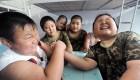 کلوپ لاغری کودکان در چین (عکس)
