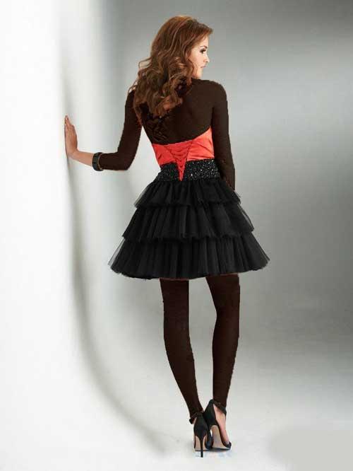 شیک ترین لباس های مجلسی دخترانه